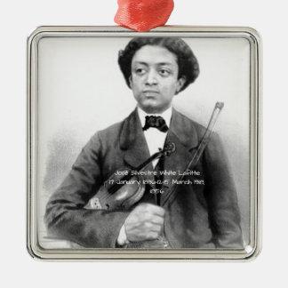 José Silvestre Weiß Lafitte Silbernes Ornament