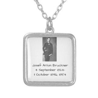 Josef Anton Bruckner 1854 Versilberte Kette