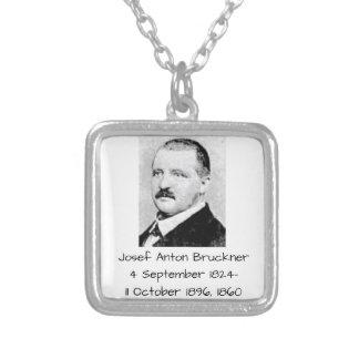Josef Anton Bruckner 1860 Versilberte Kette
