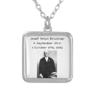 Josef Anton Bruckner 1886 Versilberte Kette