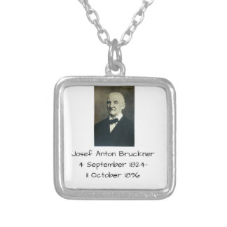 Josef Anton Bruckner Versilberte Kette