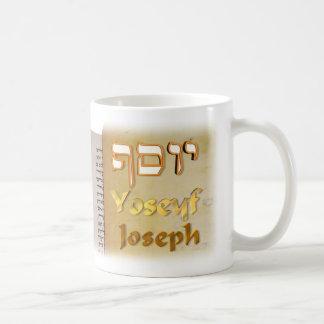 Joseph auf Hebräer Kaffeetasse