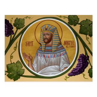 Joseph die All-Comely Gebets-Karte Postkarte