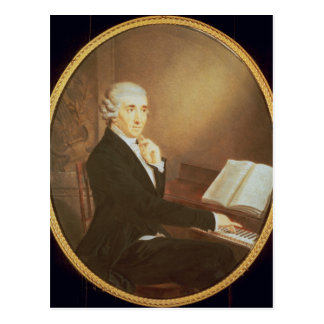 Joseph Haydn c.1795 Postkarte