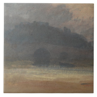 Joseph Mallord William Turner - Abends-Landschaft Fliese