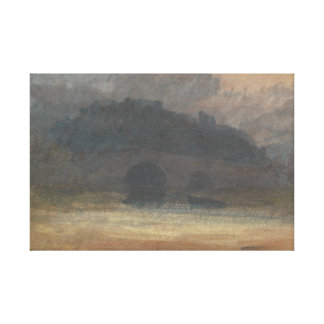 Joseph Mallord William Turner - Abends-Landschaft Leinwanddruck