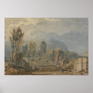 Joseph Mallord William Turner - Andernach Poster