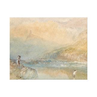 Joseph Mallord William Turner - auf dem Mosell Leinwanddruck