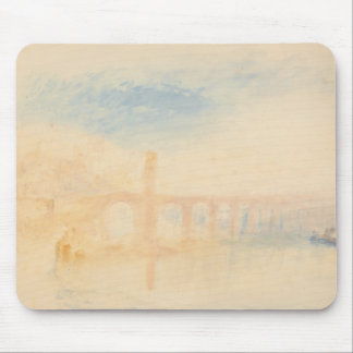 Joseph Mallord William Turner - die Mosel-Brücke Mousepad