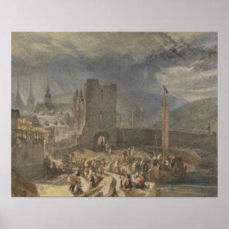 Joseph Mallord William Turner - eine Ansicht von Poster