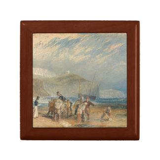 Joseph Mallord William Turner - Folkestone-Hafen Erinnerungskiste