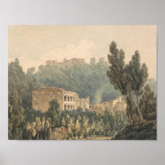 Joseph Mallord William Turner - im Tal nahe Poster