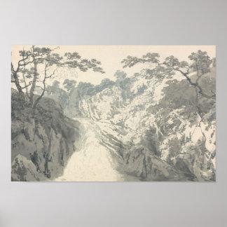 Joseph Mallord William Turner - Landschaft Poster