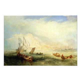 Joseph Mallord William Turner - Linie Fischen, weg Fotodruck