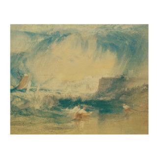 Joseph Mallord William Turner - Lyme Regis, Dorset Holzdruck