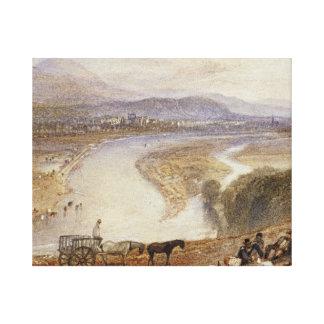 Joseph Mallord William Turner - Melrose Leinwanddruck