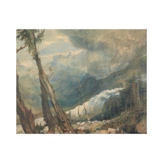 Joseph Mallord William Turner - Mer de Glace Leinwanddruck