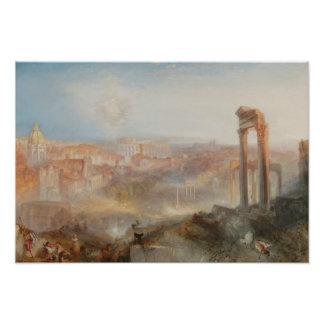 Joseph Mallord William Turner - modernes Rom Fotodruck