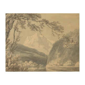 Joseph Mallord William Turner - nahe Grindelwald Holzdruck