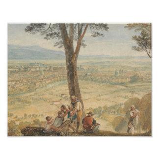 Joseph Mallord William Turner - Rom von Monte Fotodruck