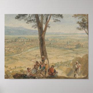 Joseph Mallord William Turner - Rom von Monte Poster