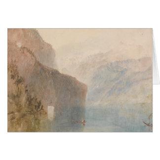 Joseph Mallord William Turner - sagten Kapelle Karte