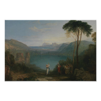 Joseph Mallord William Turner - See Avernus Poster