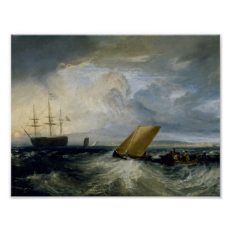 Joseph Mallord William Turner - Sheerness, wie Poster