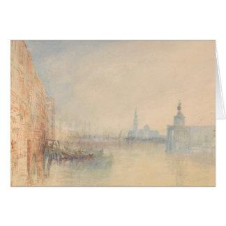 Joseph Mallord William Turner - Venedig, der Mund Grußkarte