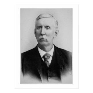 Joseph McCoy (1837-1915) (b/w Foto) Postkarte