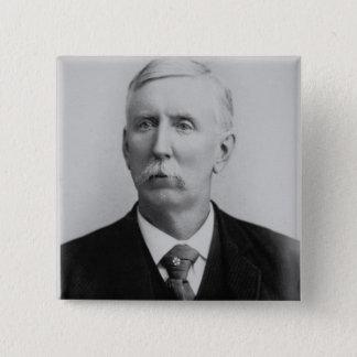 Joseph McCoy (1837-1915) (b/w Foto) Quadratischer Button 5,1 Cm