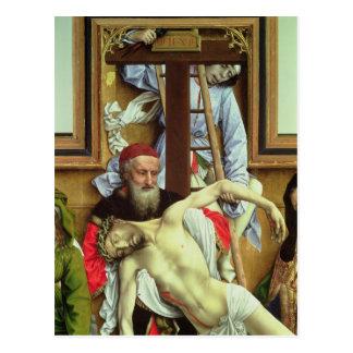 Joseph von Arimathea den toten Christus stützend Postkarte