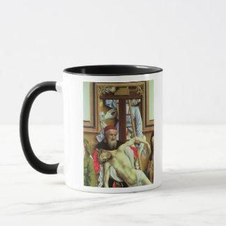 Joseph von Arimathea den toten Christus stützend Tasse