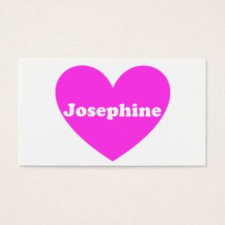 Josephine Visitenkarte