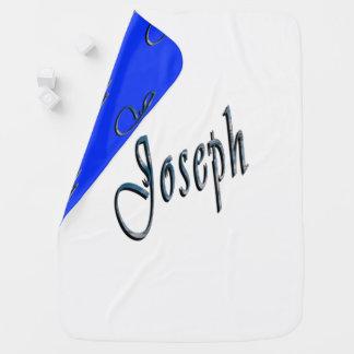 Josephnamenslogo, gemütlich umschaltbare kinderwagendecke