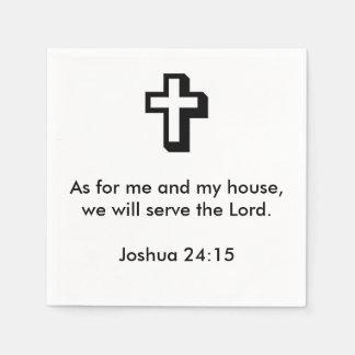 Joshua-24:15 Servietten