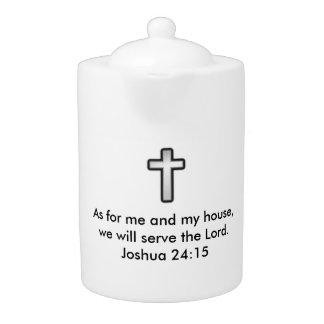 Joshua-24:15 Teekanne