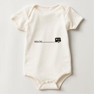 Joshua-Baum-Anhänger-Camping Baby Strampler