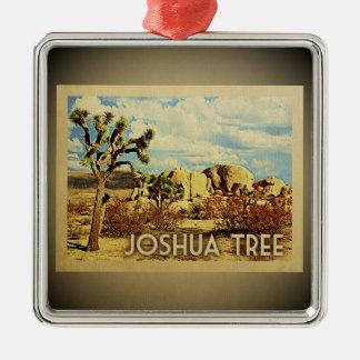 Joshua-Baum-Kalifornien-Verzierungs-Vintage Reise Silbernes Ornament
