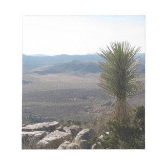Joshua-Baum-Nationalpark Notizblock