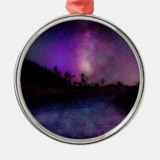 Joshua-Baum Nationalpark Silbernes Ornament