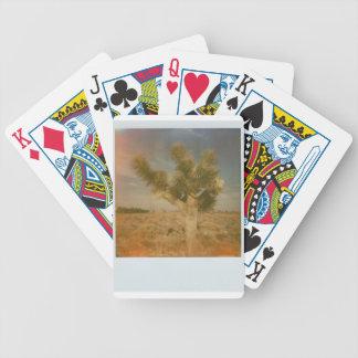 Joshua-Baum verziert Bicycle Spielkarten