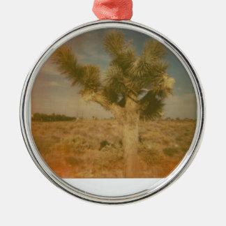 Joshua-Baum verziert Silbernes Ornament