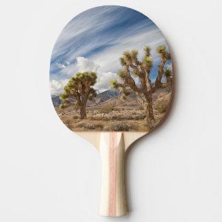 Joshua-Bäume in der Wüste Tischtennis Schläger