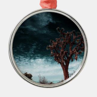 Joshua-BaumSpecial Rundes Silberfarbenes Ornament