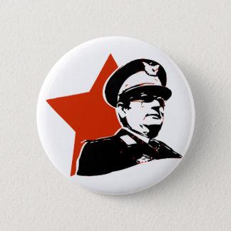 Josip Broz Tito Jugoslavija Runder Button 5,1 Cm