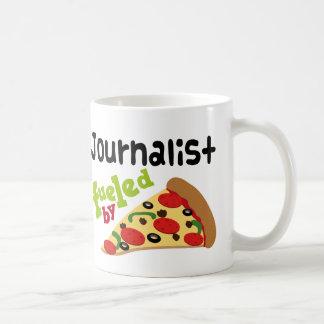 Journalist-(lustige) Pizza Kaffeetasse