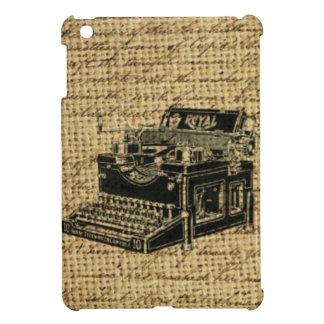 Journalist scripts antike Schreibmaschine der iPad Mini Hülle