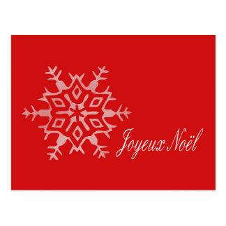 joyeux no l franz sische weihnachtskarte postkarte. Black Bedroom Furniture Sets. Home Design Ideas