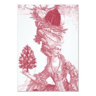 Joyeux Weihnachten-uAwg 8,9 X 12,7 Cm Einladungskarte